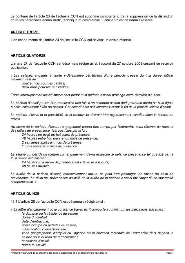 Idcc 915 Avenant Relatif A La Maj De La Ccn