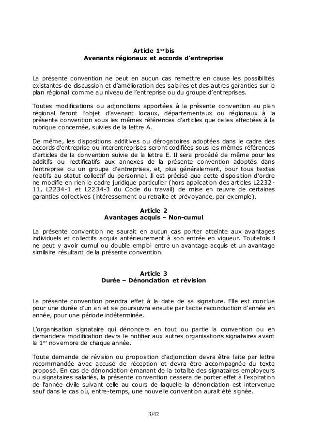 Convention Collective Nationale Des Gardiens Concierges Et Employes
