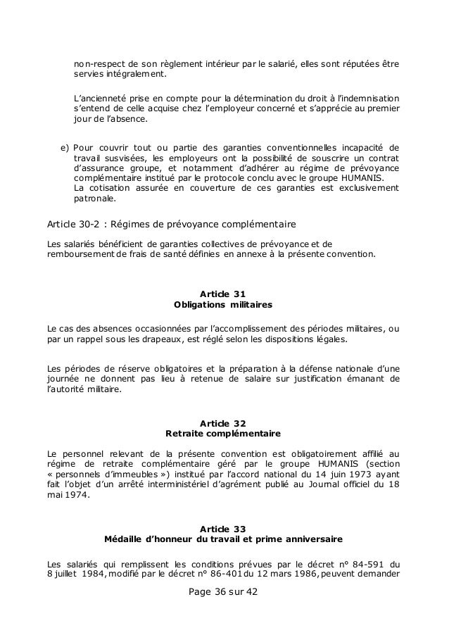 Avenant Salaires S 36 Convention Collective Salaries Particulier