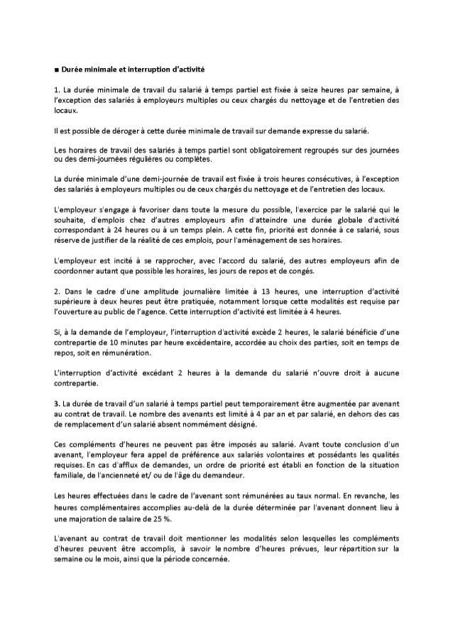 Assurance Générale - Avenant aménagement réduction temps de travail du 20 décembre 2000 du 12 12-13 Slide 3