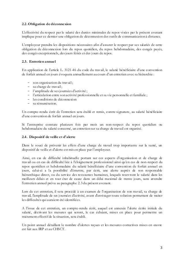 Idcc 573 Avenant Du 30 6 2016 Relatif Aux Forfait Jours Ccn 3044