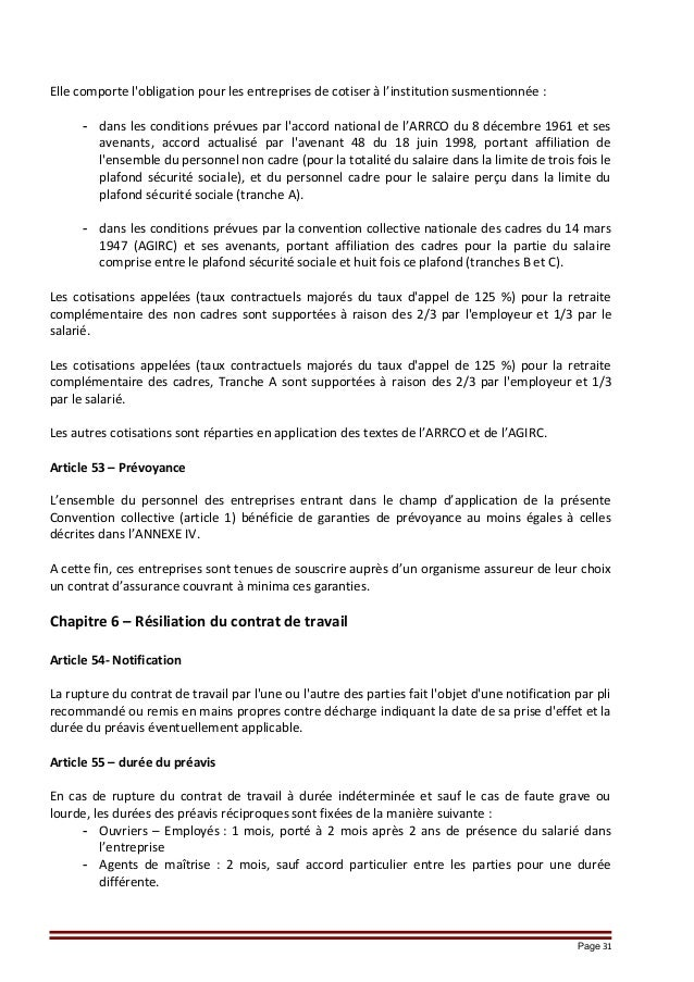 Idcc 1930 Avenant Maj Convention M Ccn Mtg