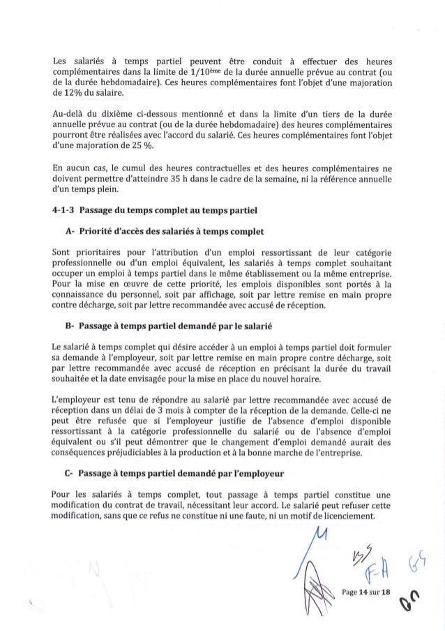 Modele Lettre Modification Horaire De Travail Vinny Oleo Vegetal