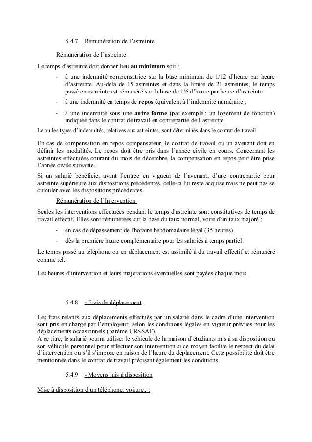 IDCC 1671 : Avenant n°60 relatif aux astreintes