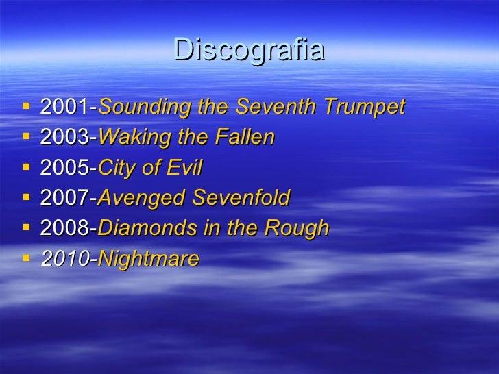 Discografia <ul><li>2001- Sounding the Seventh Trumpet   </li></ul><ul><li>2003- Waking the Fallen   </li></ul><ul><li>200...