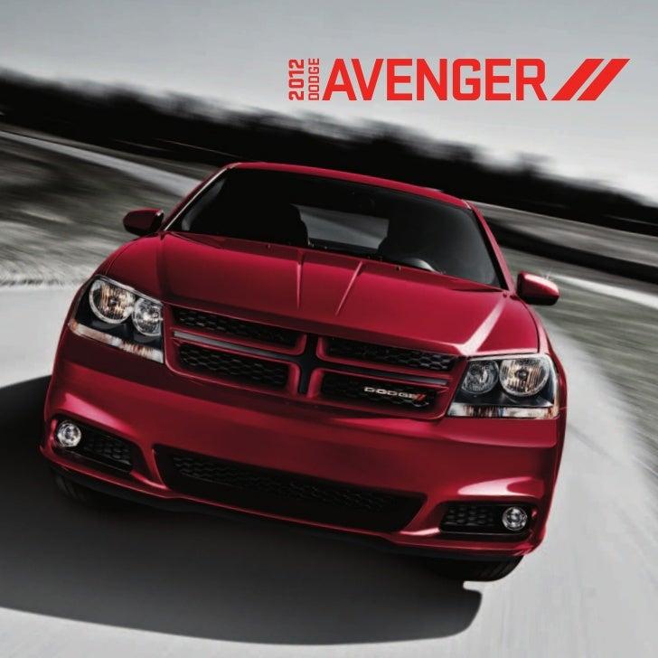 2012 Dodge Avenger EBrochure