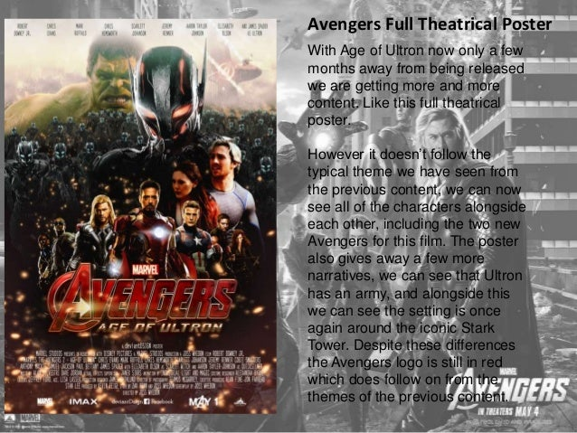 Avengers Teaser Trailer #2  https://www.youtube.com/watch?v=tmeOjFno6Do  The teaser trailer only just came  out recently, ...