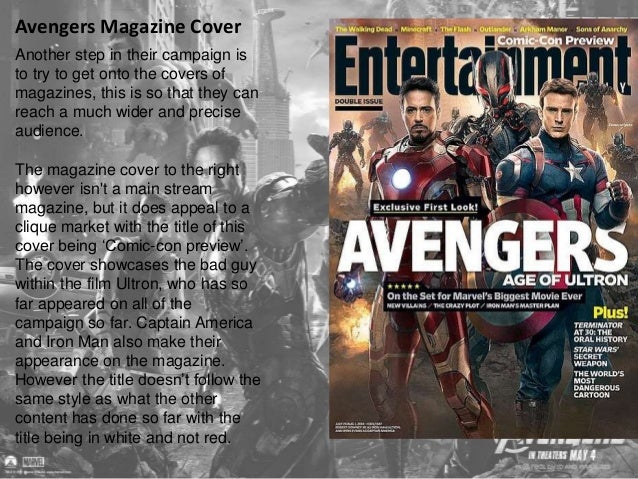 Marvels Announcement  During the build up campaign of  Age of Ultron, DC announced their  line-up of films over the coming...