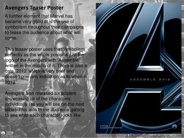 Avengers Teaser Poster  These posters give us some  insight into each of the characters  who will appear in Avengers. All ...