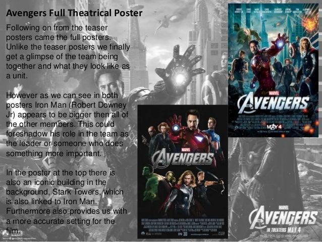 Avengers Teaser Trailer/ TV Spot  Marvel had the opportunity to  show a very short teaser trailer at  the Superbowl XLVI. ...