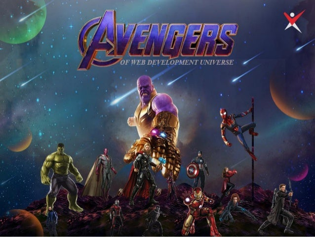 Avengers of web development universe
