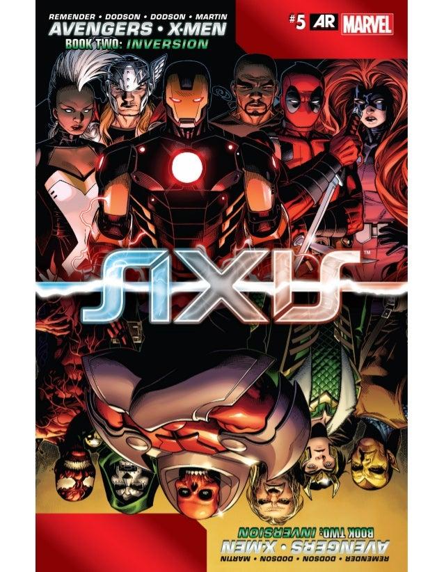 Avengers & x men - axis 005