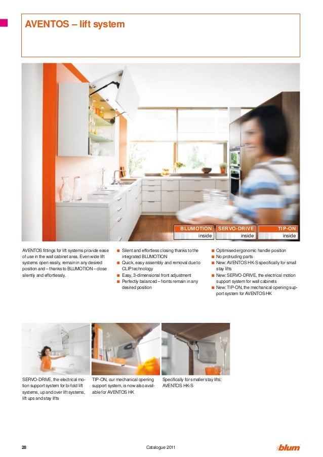 AVENTOS – lift system                                                                                       BLUMOTION     ...