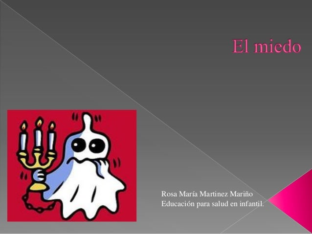 Rosa María Martinez Mariño Educación para salud en infantil.