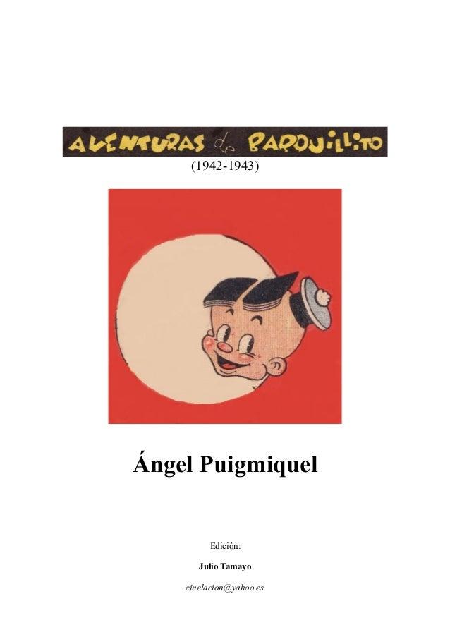 aventuras de barquillito 19421943 ngel puigmiquel 1 638