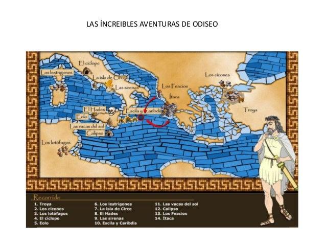 LAS ÍNCREIBLES AVENTURAS DE ODISEO