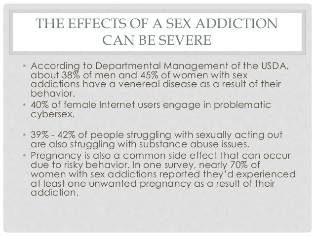 Is sex addiction a disease