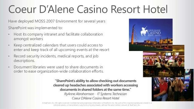 Coeur d'alene casino careers