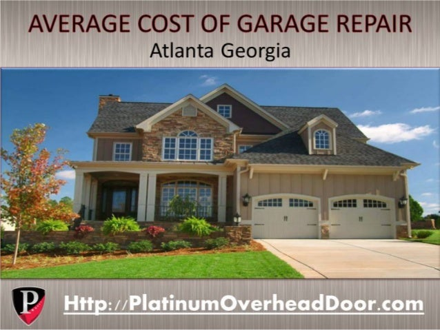 average garage door repair costs in atlanta georgia
