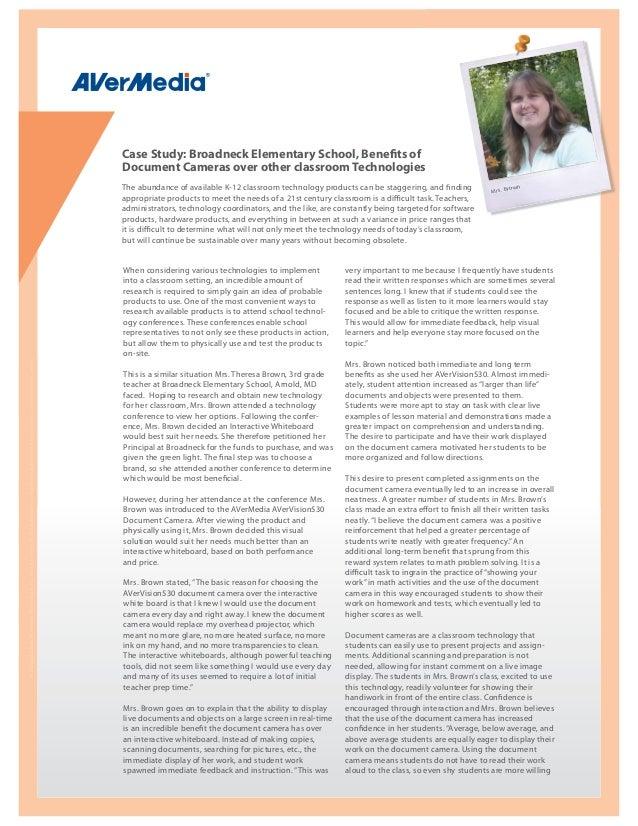 Case Study: Broadneck Elementary School, Benefits of                                                                      ...
