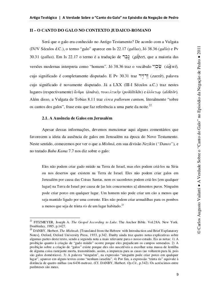d                s          ^                                            E               WII – O CANTO DO GALO NO CONTEXTO...