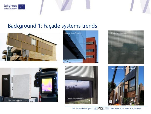 Stefano Avesani, Eurac Research, Institute for Renewable Energy - FACEcamp overview Slide 2
