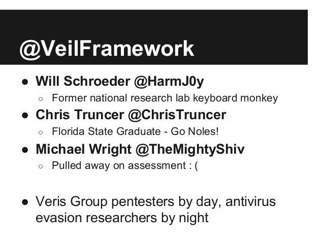 AV Evasion with the Veil Framework