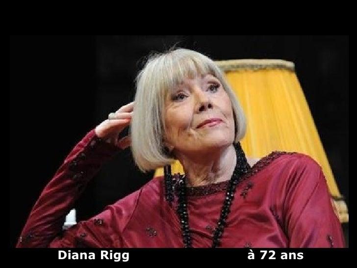 Diana Rigg   à 72 ans