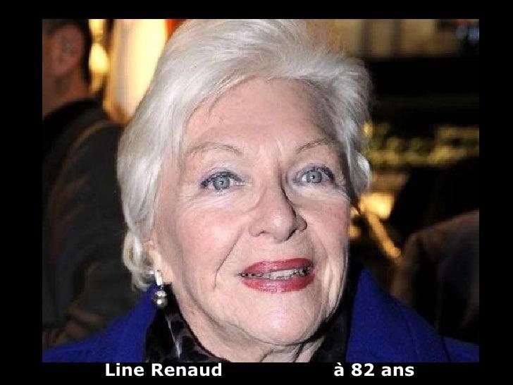 Line Renaud   à 82 ans