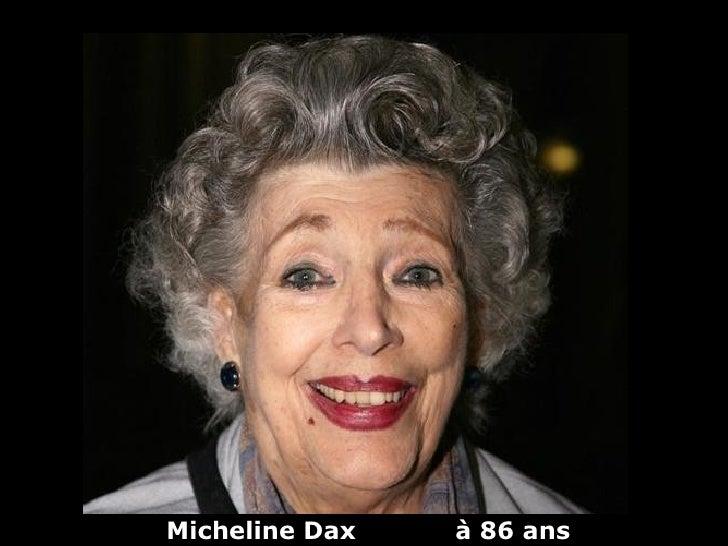 Micheline Dax   à 86 ans