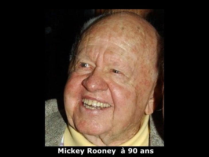 Mickey Rooney à 90 ans