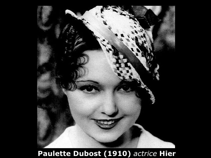 Paulette Dubost (1910) actrice Hier