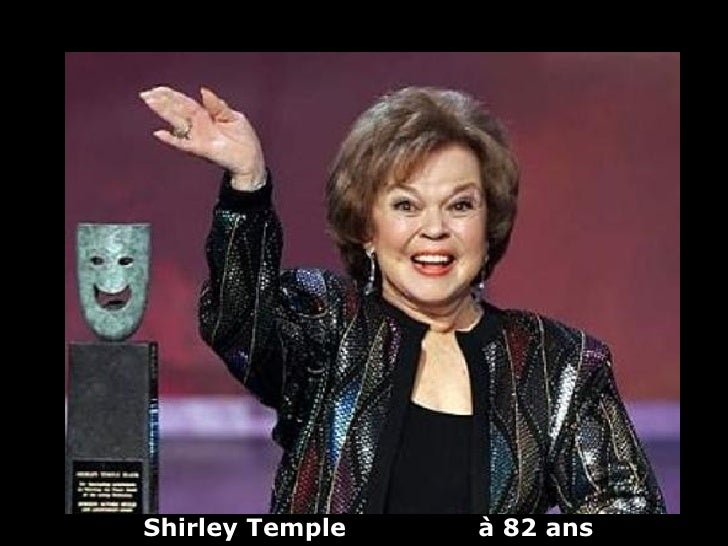 Shirley Temple   à 82 ans