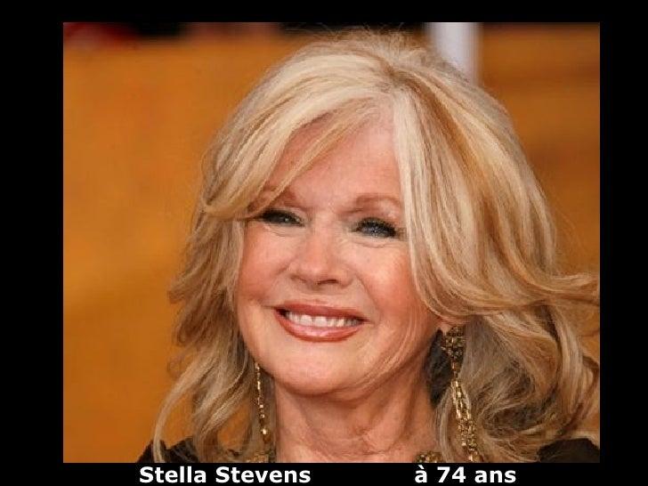 Stella Stevens   à 74 ans