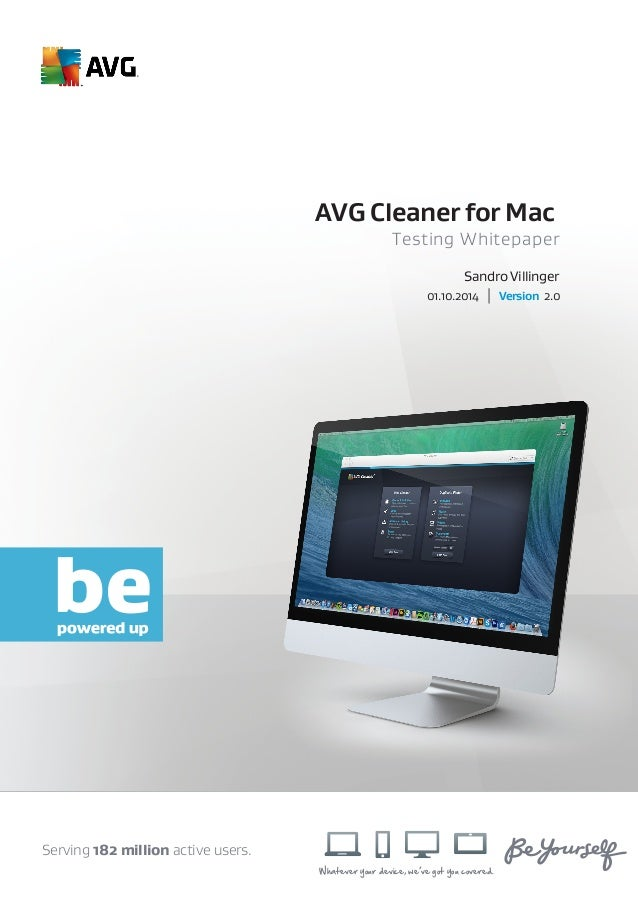 avg mac cleaner