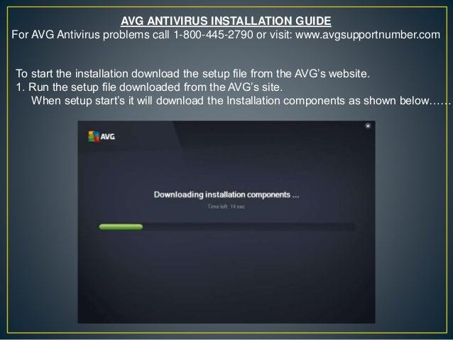 antivirus setup file