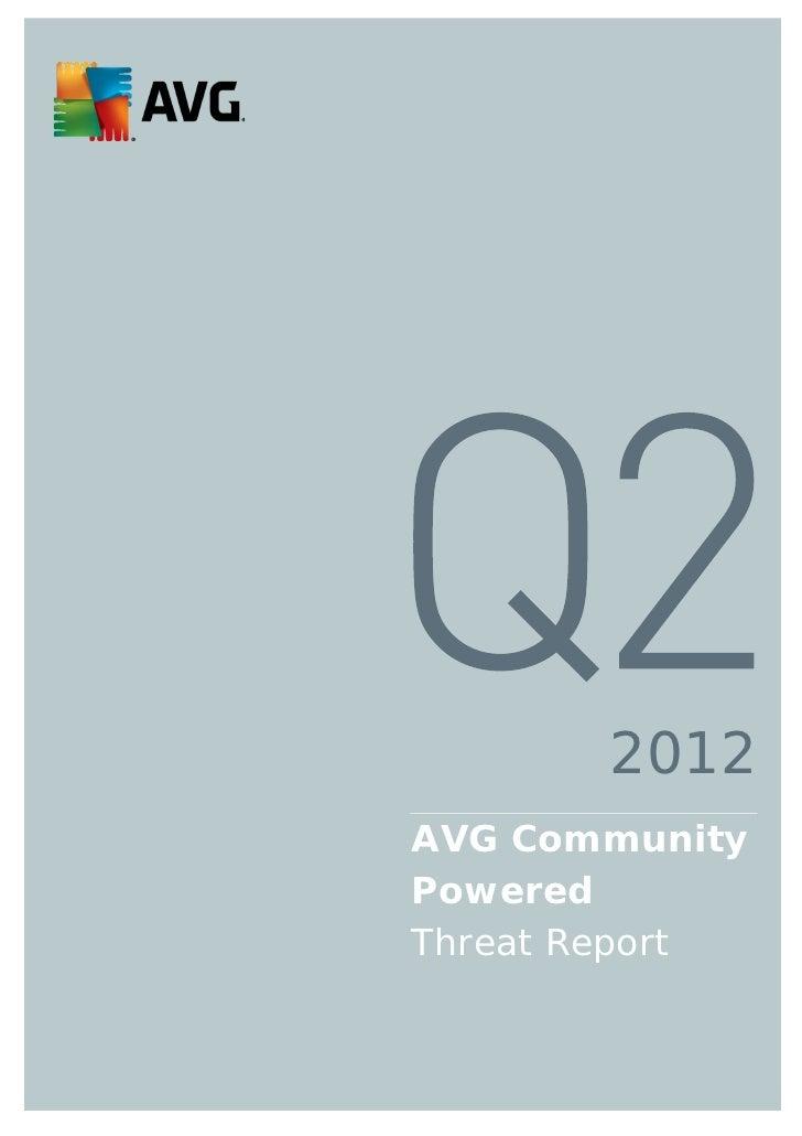 2012AVG CommunityPoweredThreat Report                0