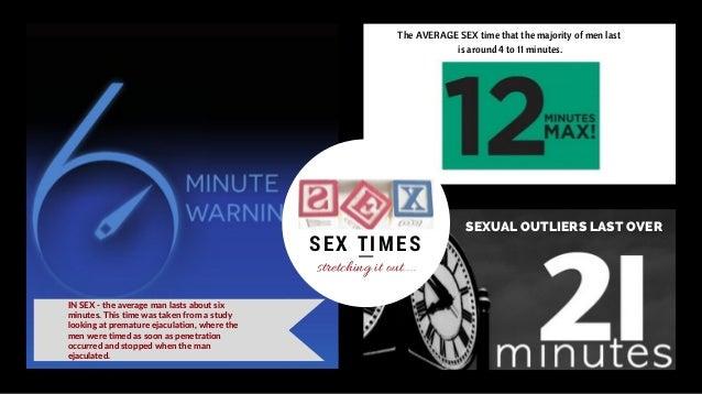 Average sexual stamina