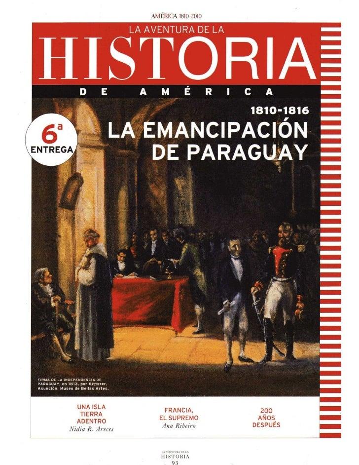 La emancipación de Paraguay