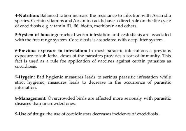 Avian parasitic diseases Dr Fares El-Khayat Slide 3