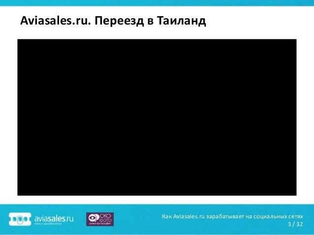 Как Aviasales.ru зарабатывает на социальных сетях Slide 3