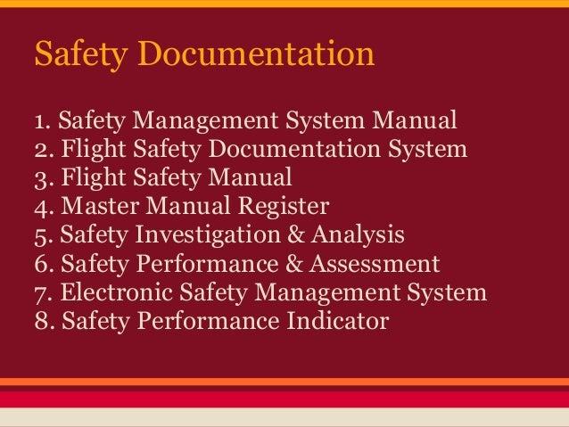 Safety management system manual, version 4. 0.