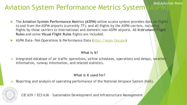 Aviation - Infrastructure management