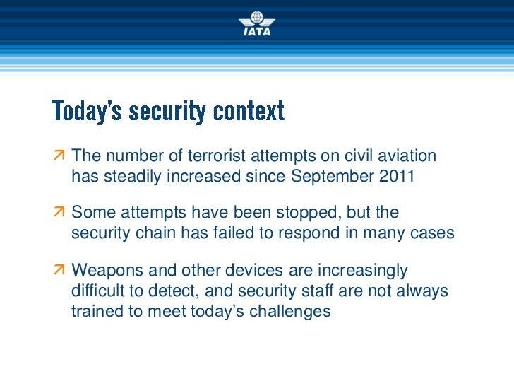 Aviation Security since September 2001 Slide 2