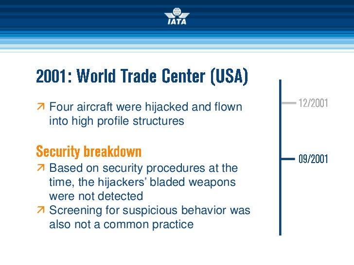 Aviation Security since September 2001 Slide 3