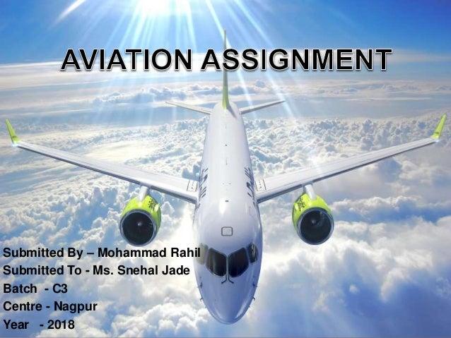 Aviation assignment Frankfinn