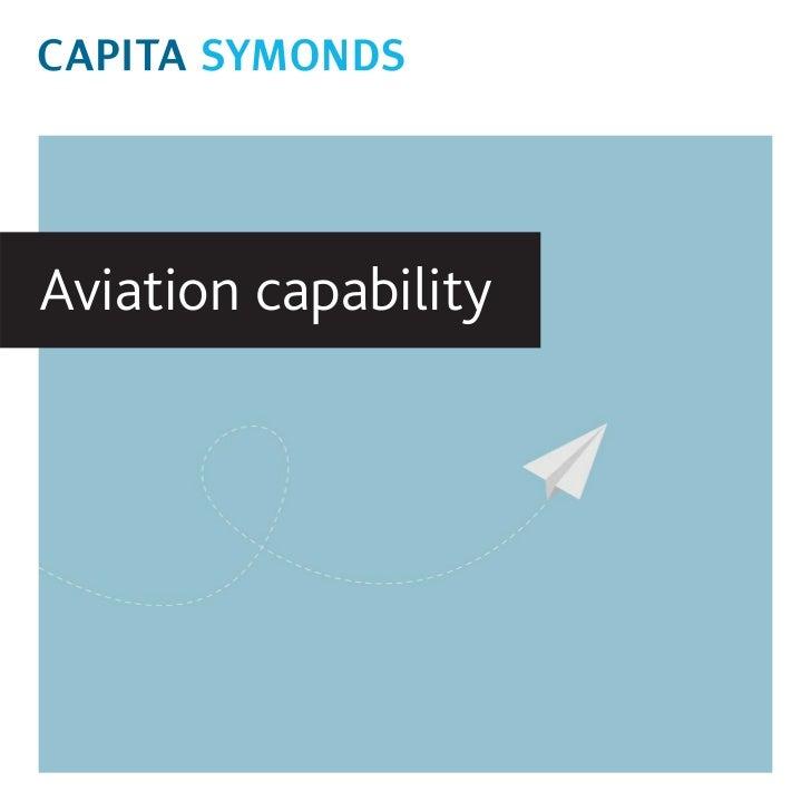 Aviation capability