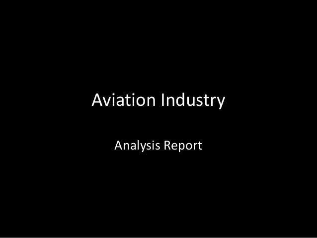 Aviation Industry Analysis Report
