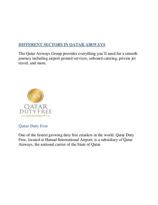 qatar airways analysis This is a research report on swot analysis of qatar airways by sayed arif in marketing category search and upload all types of swot analysis of qatar airways.