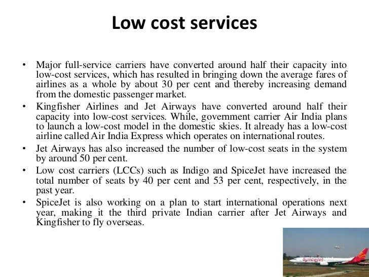 comparison of low cost airline models We focus on westjet as a typical low-cost airline and compare its accounting and  stock performance to air canada, a legacy carrier and rival in several business.